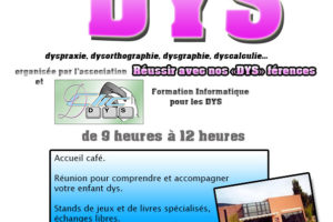 Journée Nationale des DYS 12 Octobre 2019 Abbeville